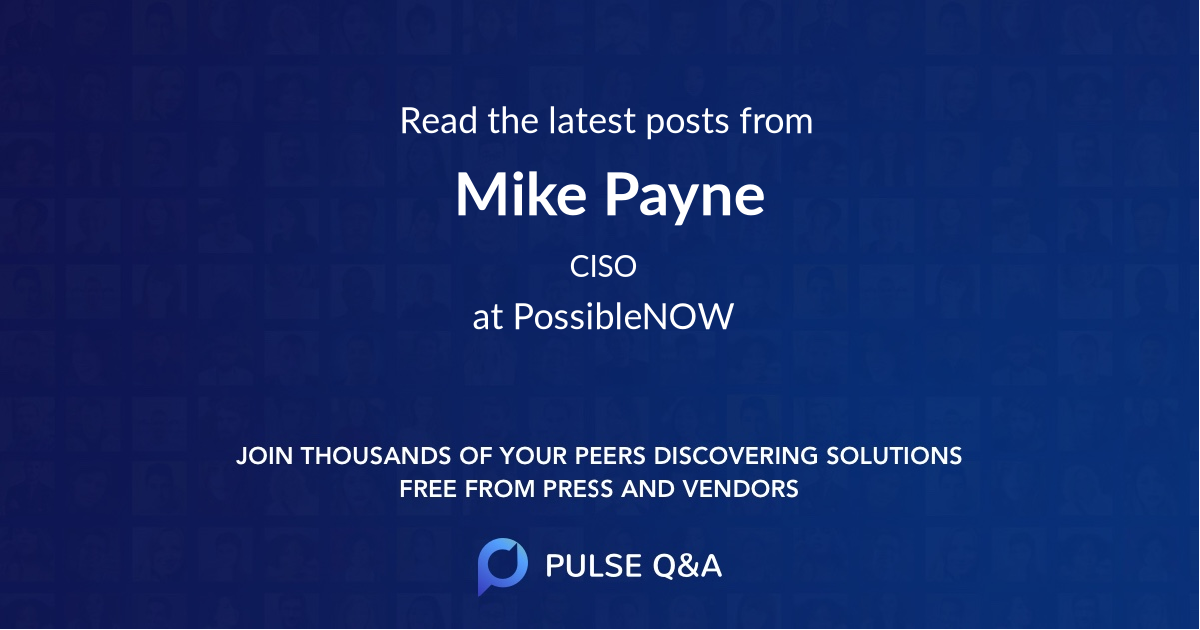 Mike Payne