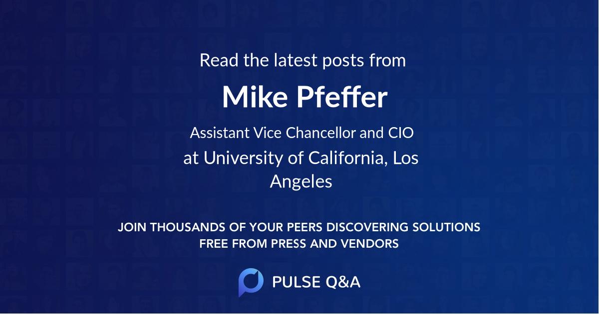 Mike Pfeffer