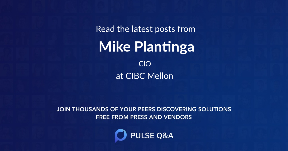 Mike Plantinga