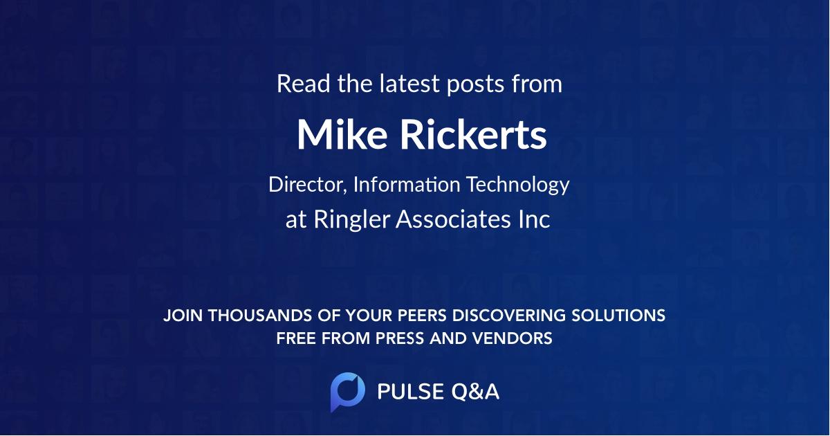 Mike Rickerts