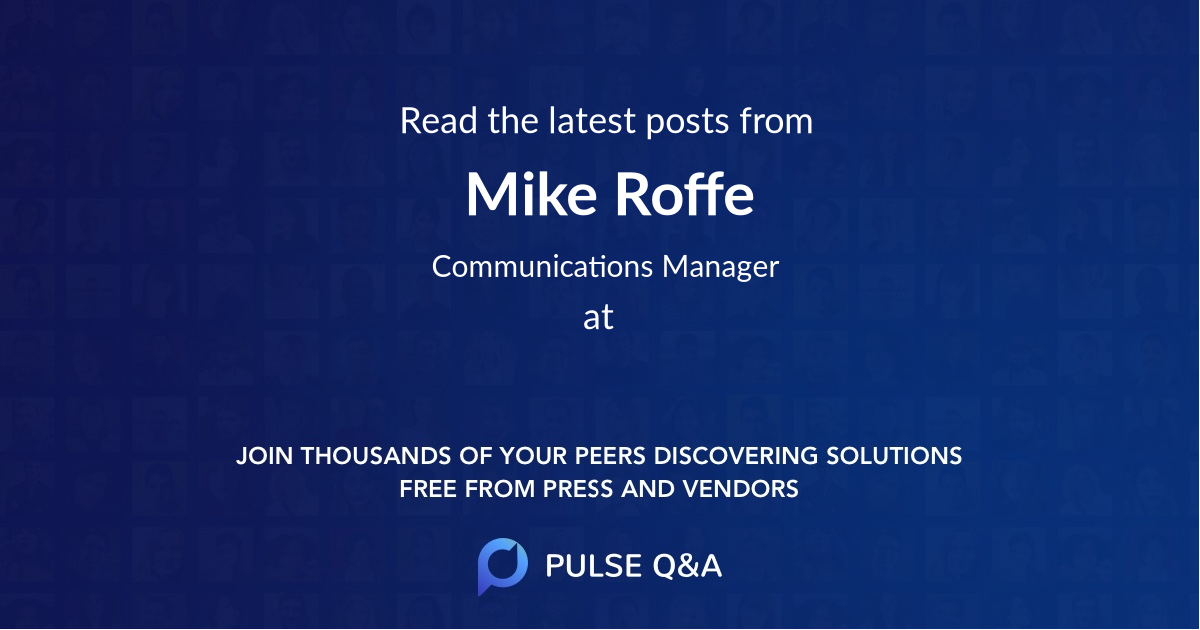 Mike Roffe