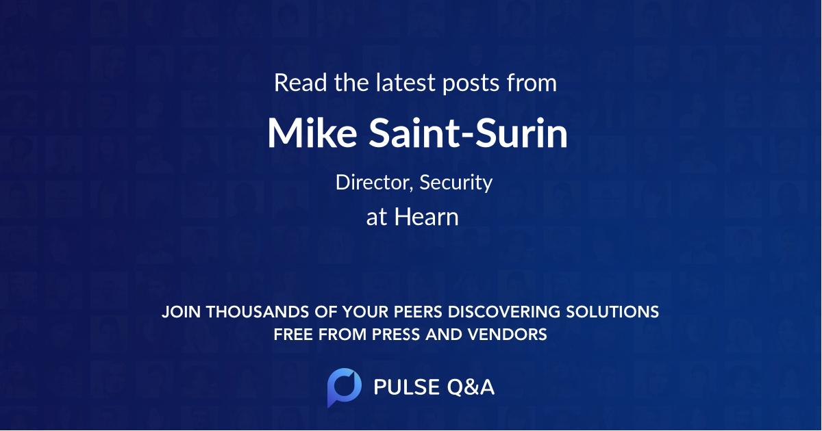 Mike Saint-Surin