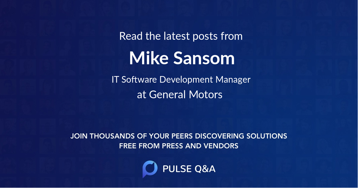 Mike Sansom