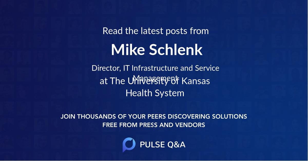 Mike Schlenk