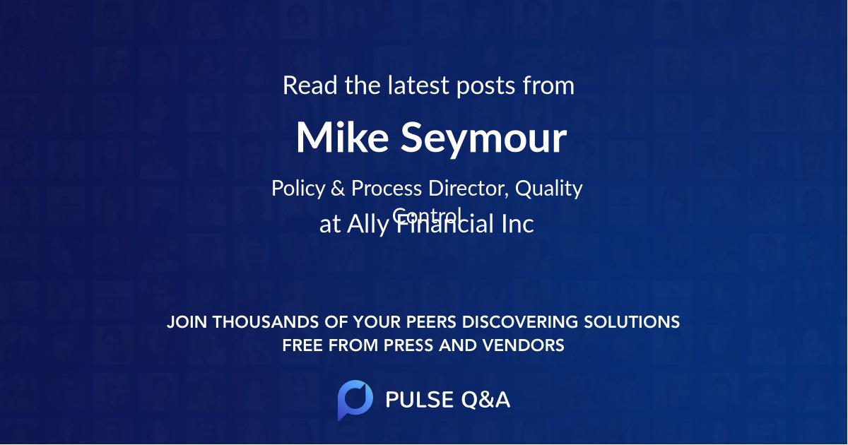Mike Seymour