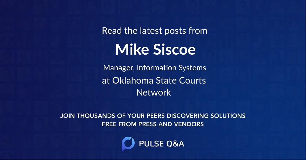 Mike Siscoe