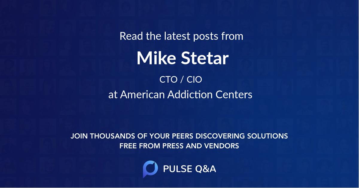 Mike Stetar