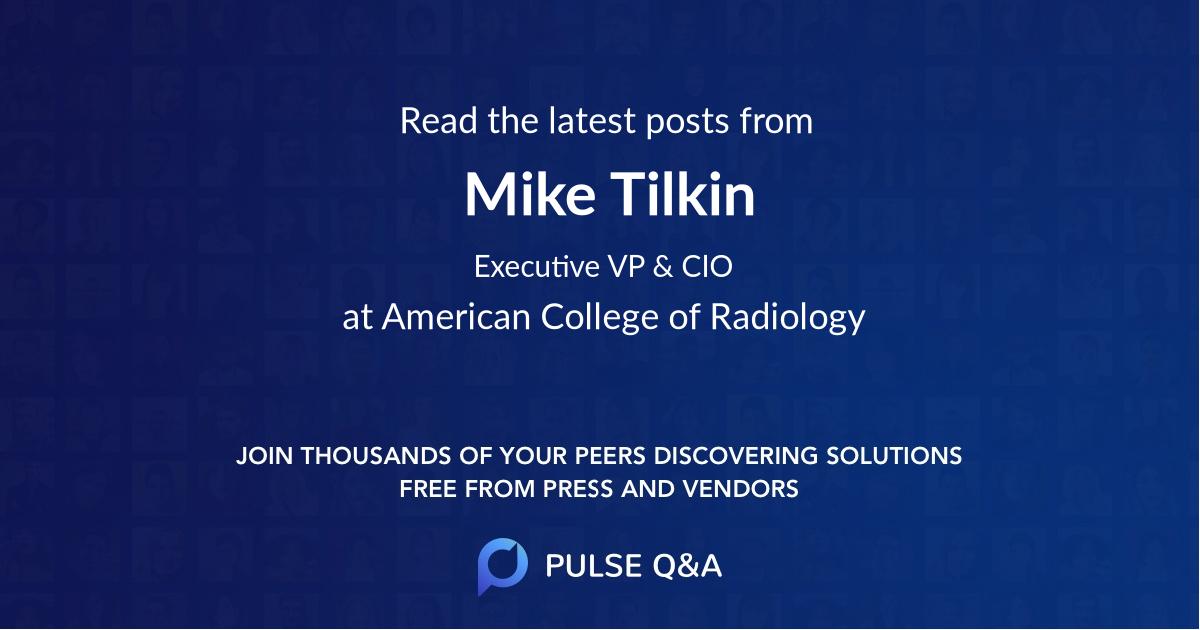 Mike Tilkin