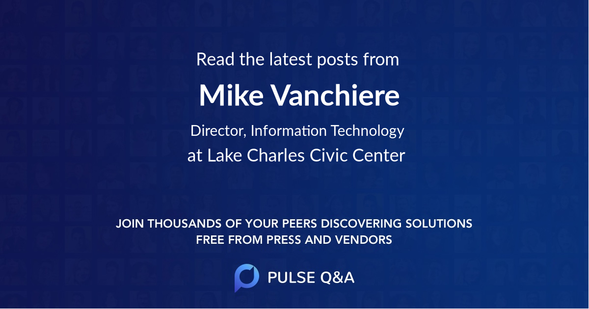 Mike Vanchiere