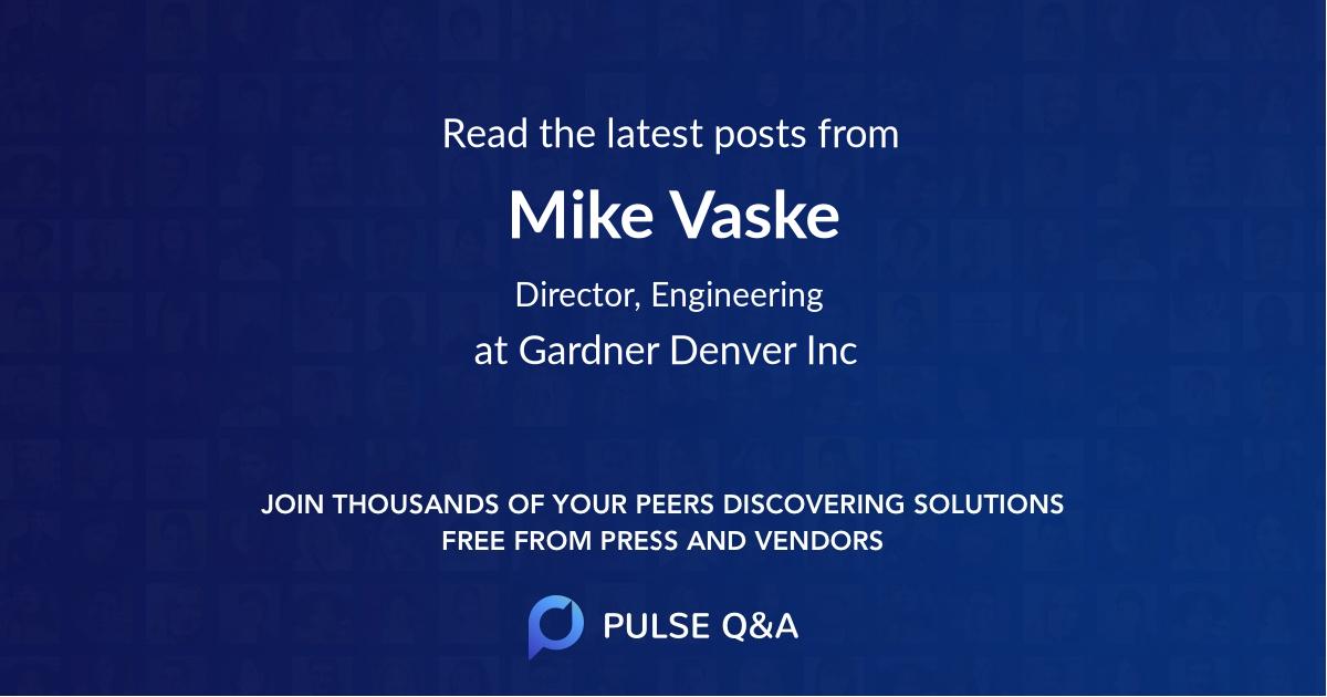 Mike Vaske