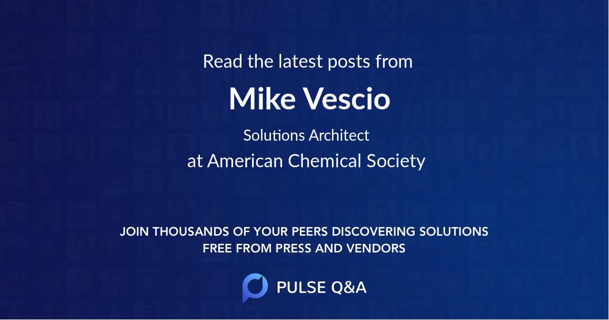 Mike Vescio