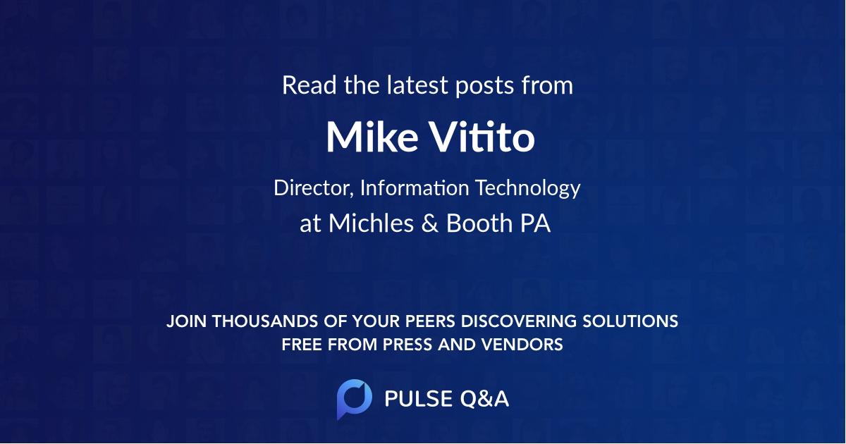 Mike Vitito
