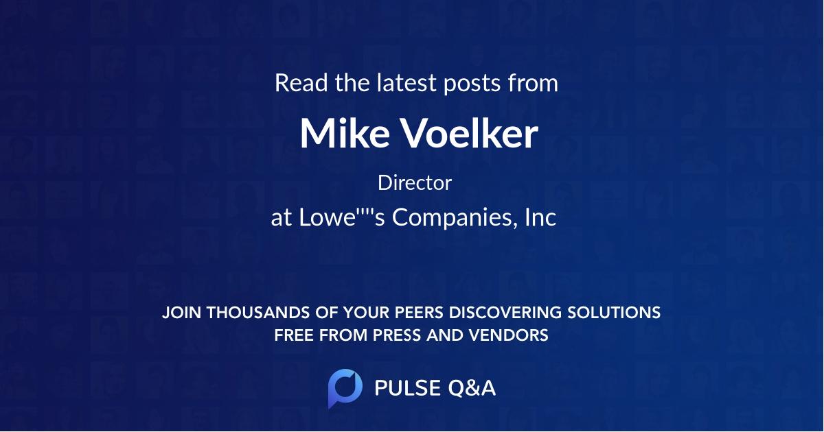 Mike Voelker