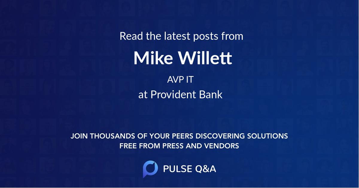 Mike Willett