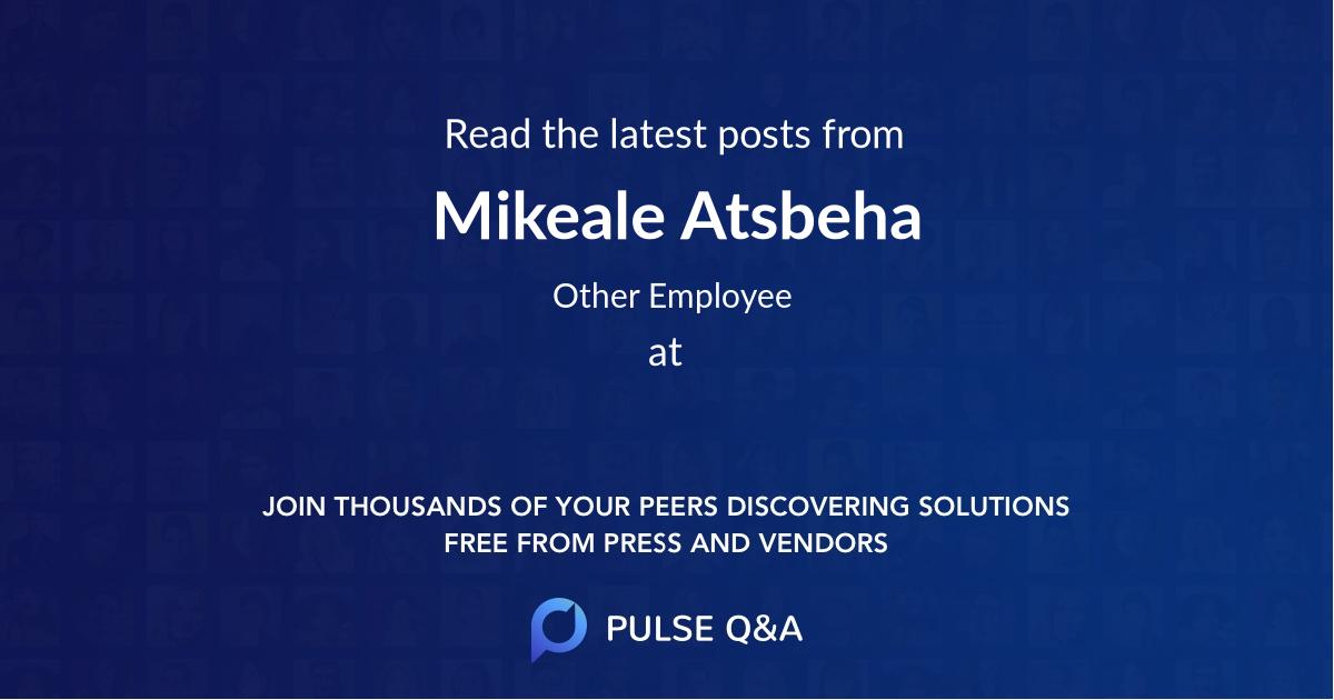 Mikeale Atsbeha