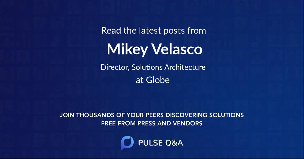 Mikey Velasco