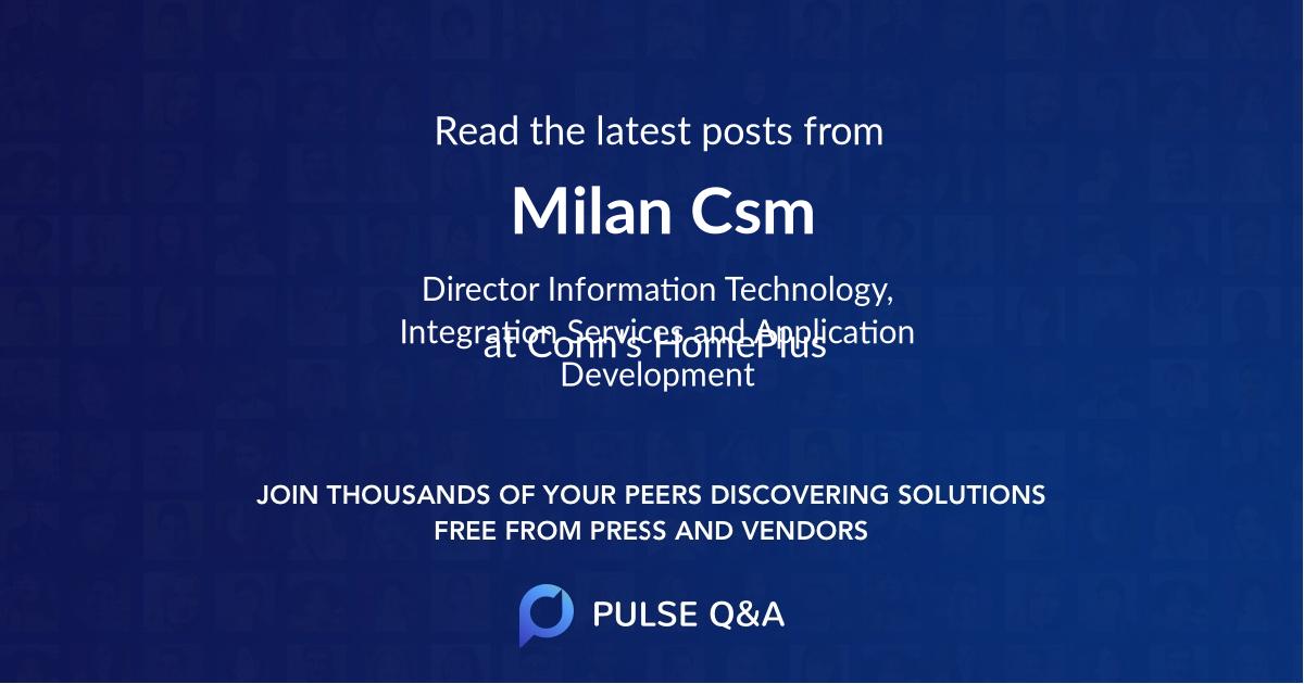 Milan Csm