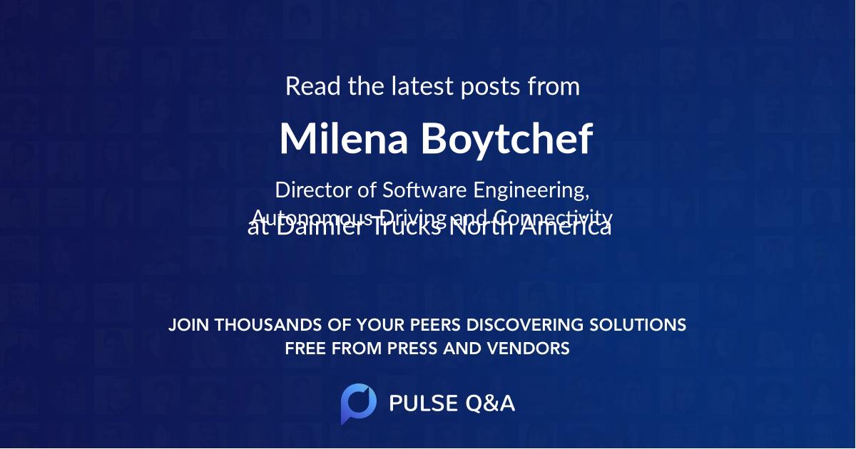 Milena Boytchef