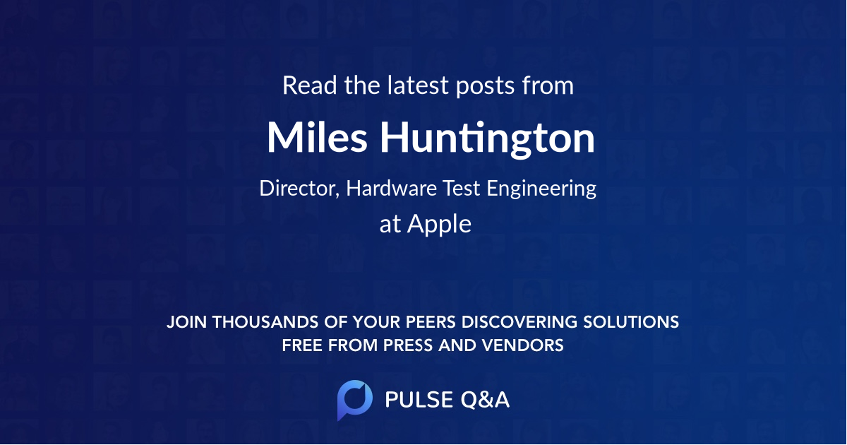 Miles Huntington