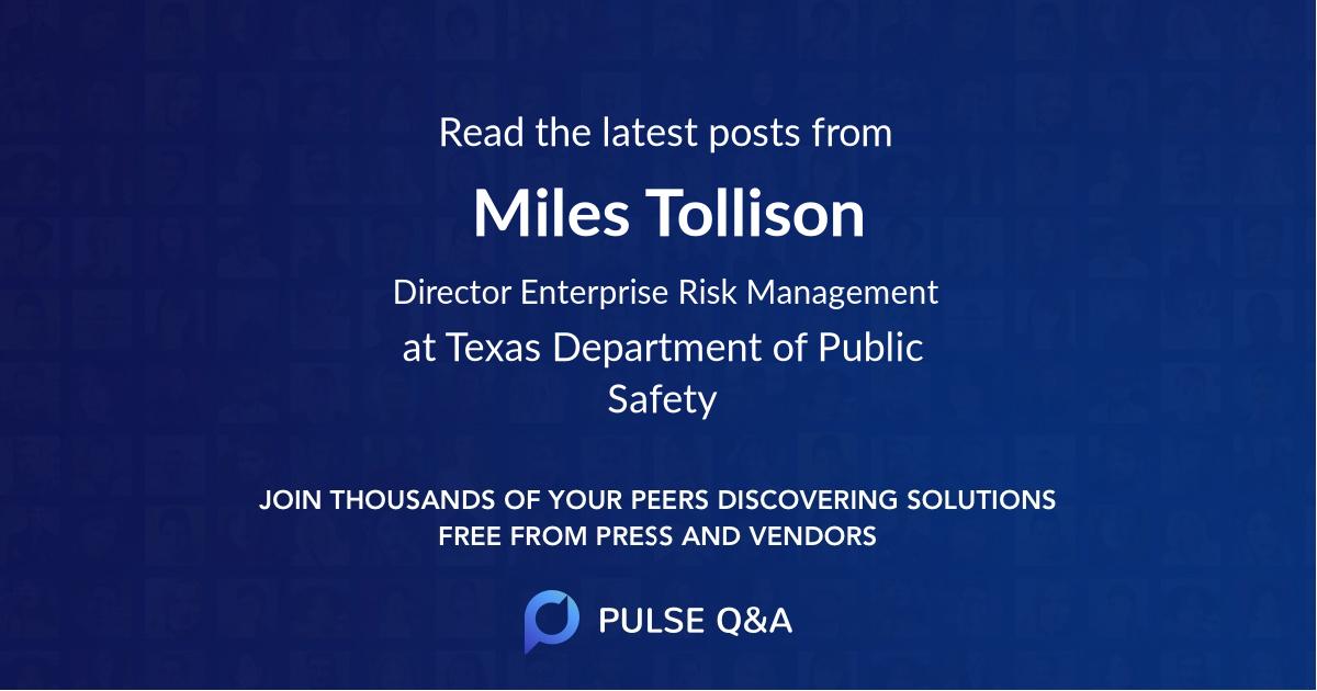 Miles Tollison