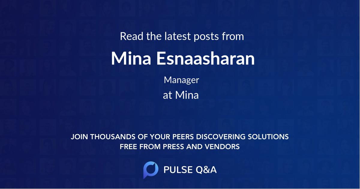 Mina Esnaasharan
