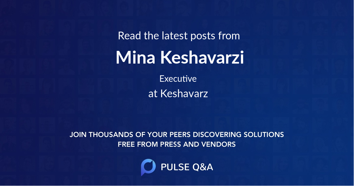 Mina Keshavarzi