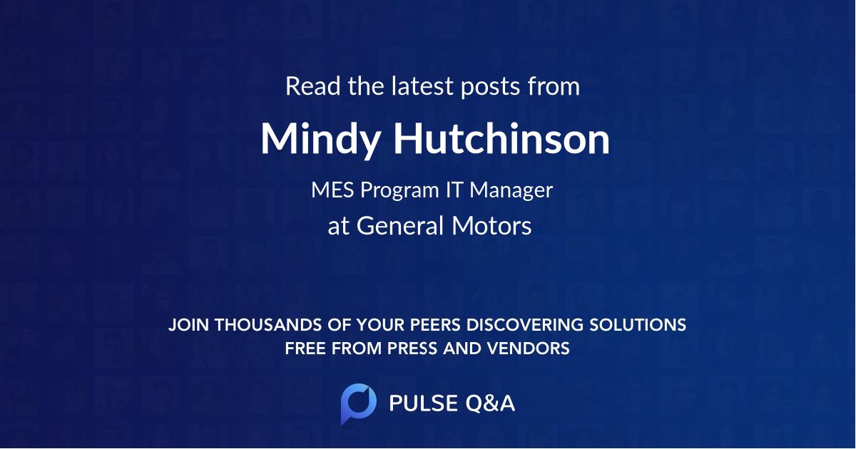 Mindy Hutchinson