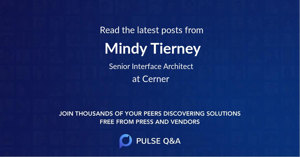 Mindy Tierney