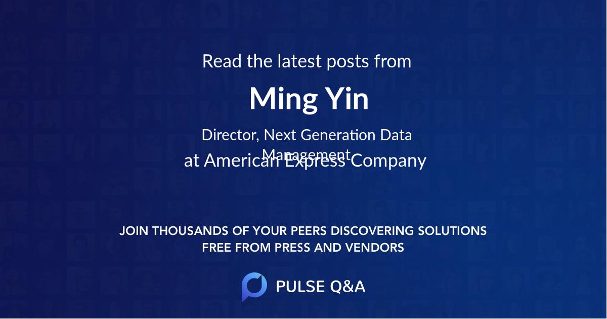 Ming Yin