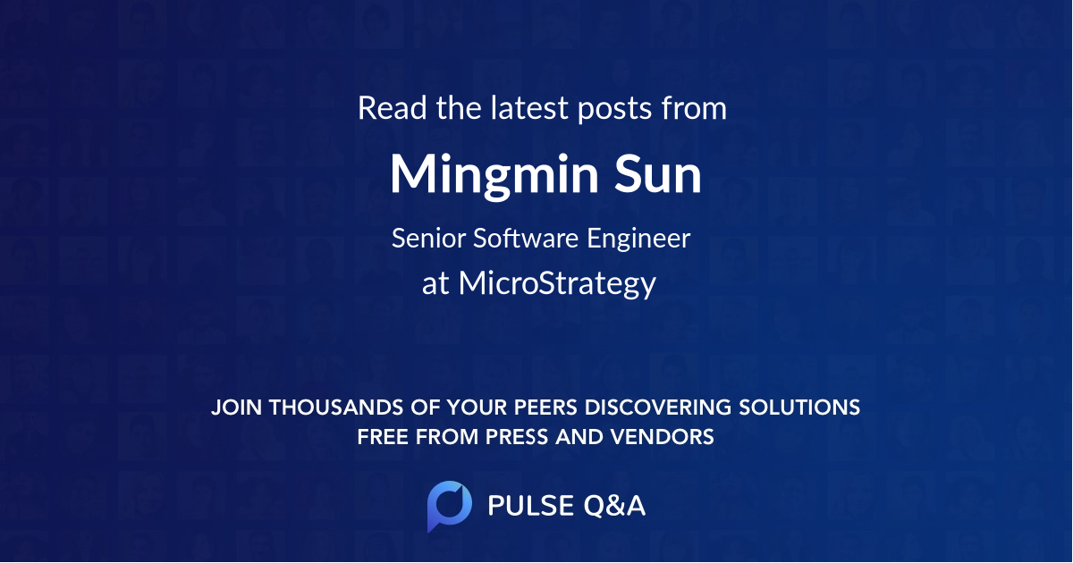 Mingmin Sun