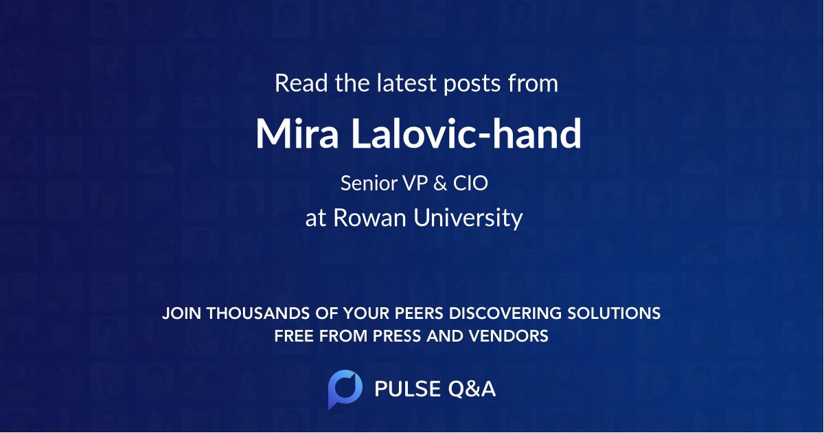 Mira Lalovic-hand