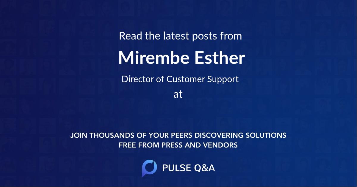 Mirembe Esther