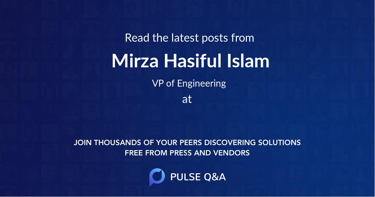Mirza Hasiful Islam