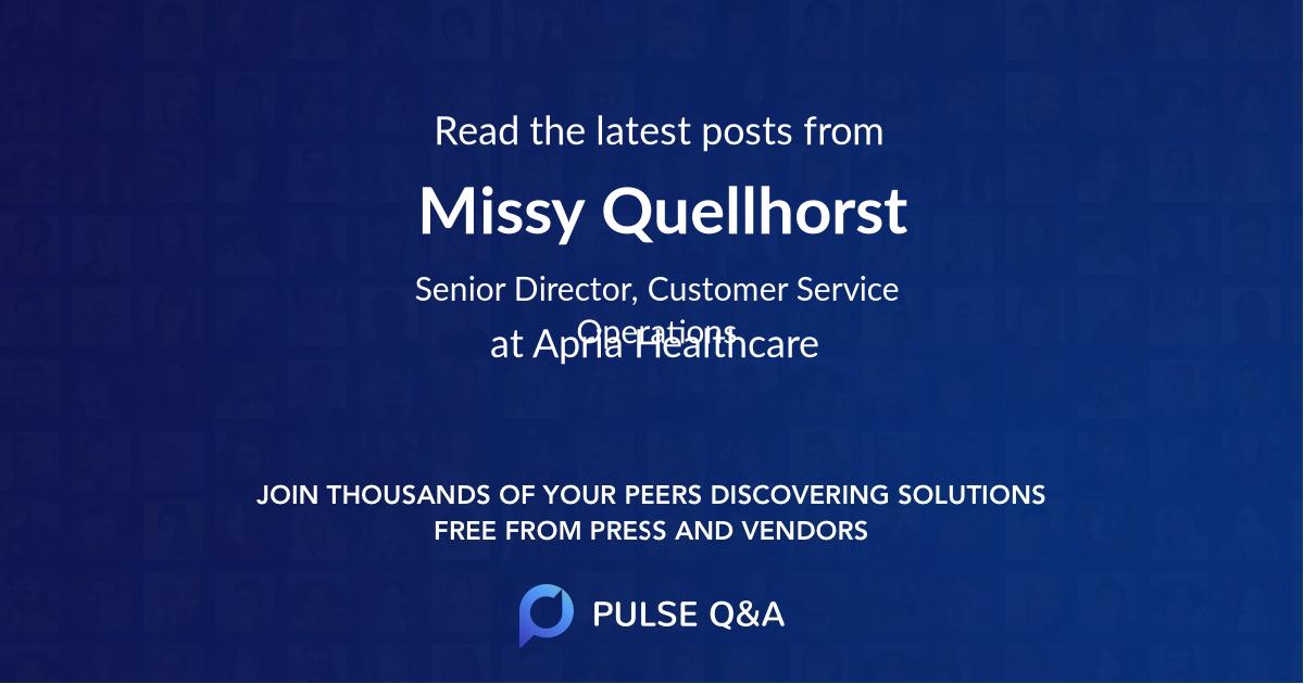 Missy Quellhorst