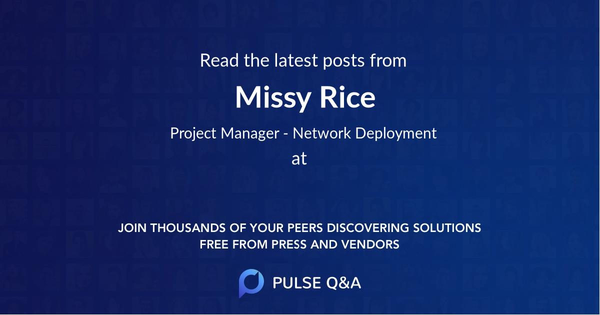 Missy Rice