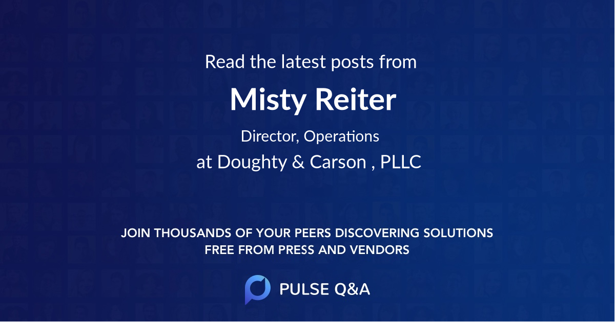 Misty Reiter