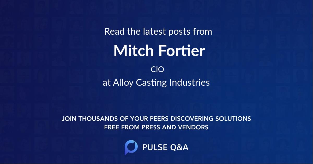 Mitch Fortier