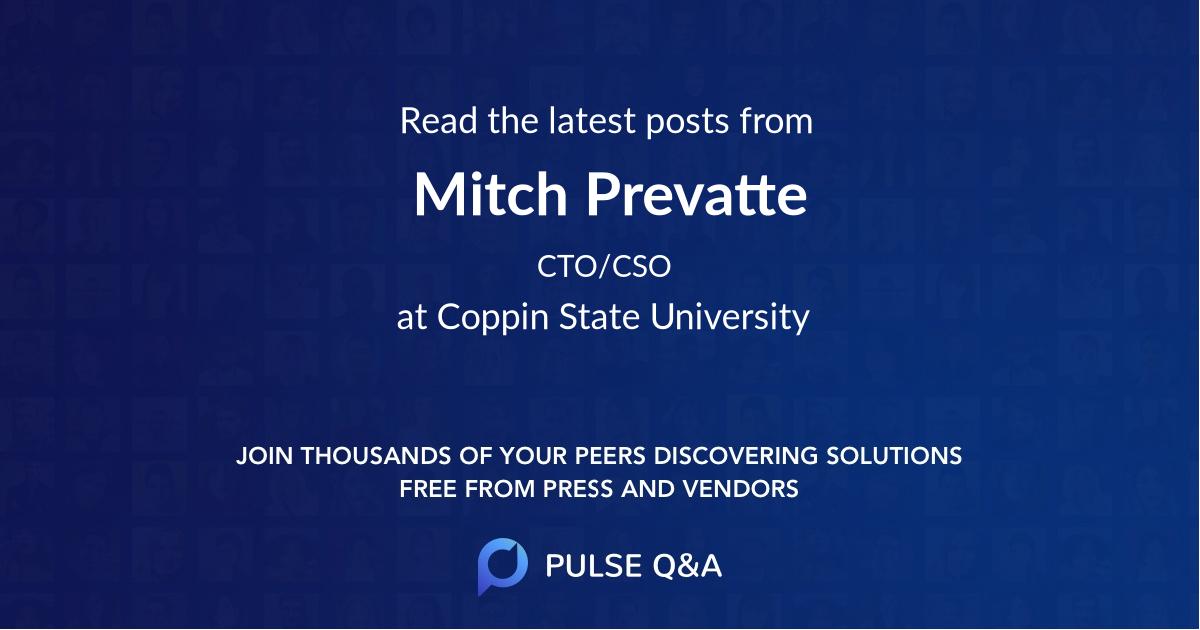 Mitch Prevatte