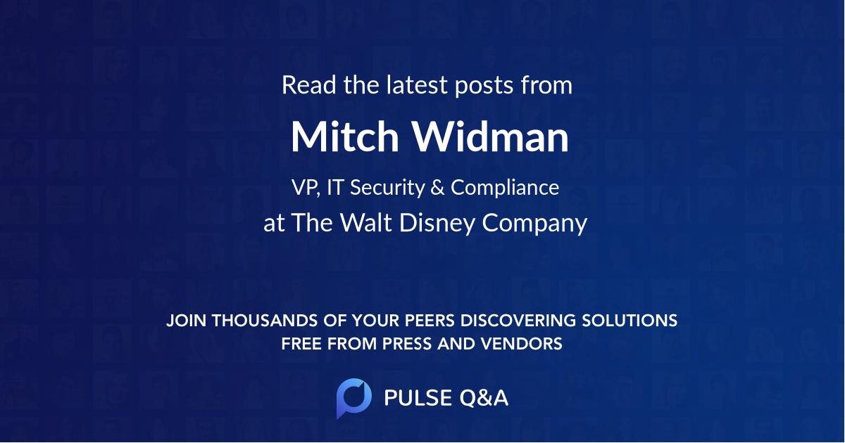Mitch Widman