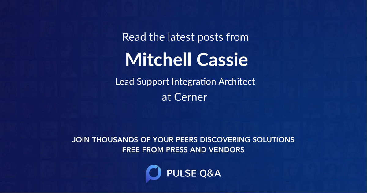 Mitchell Cassie