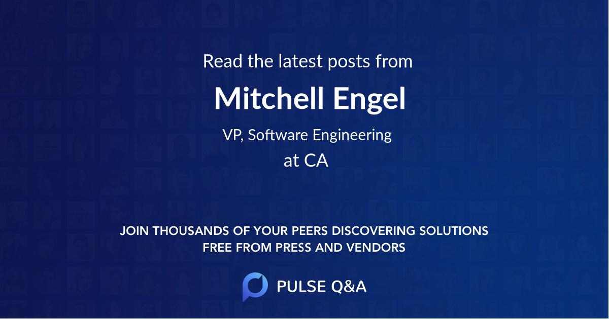 Mitchell Engel
