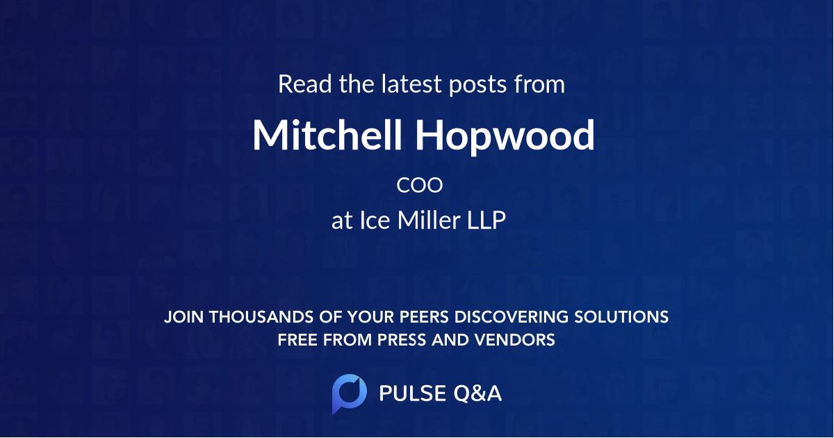 Mitchell Hopwood