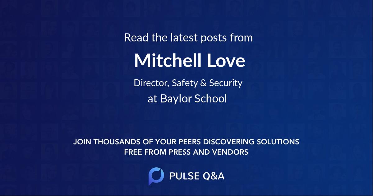Mitchell Love
