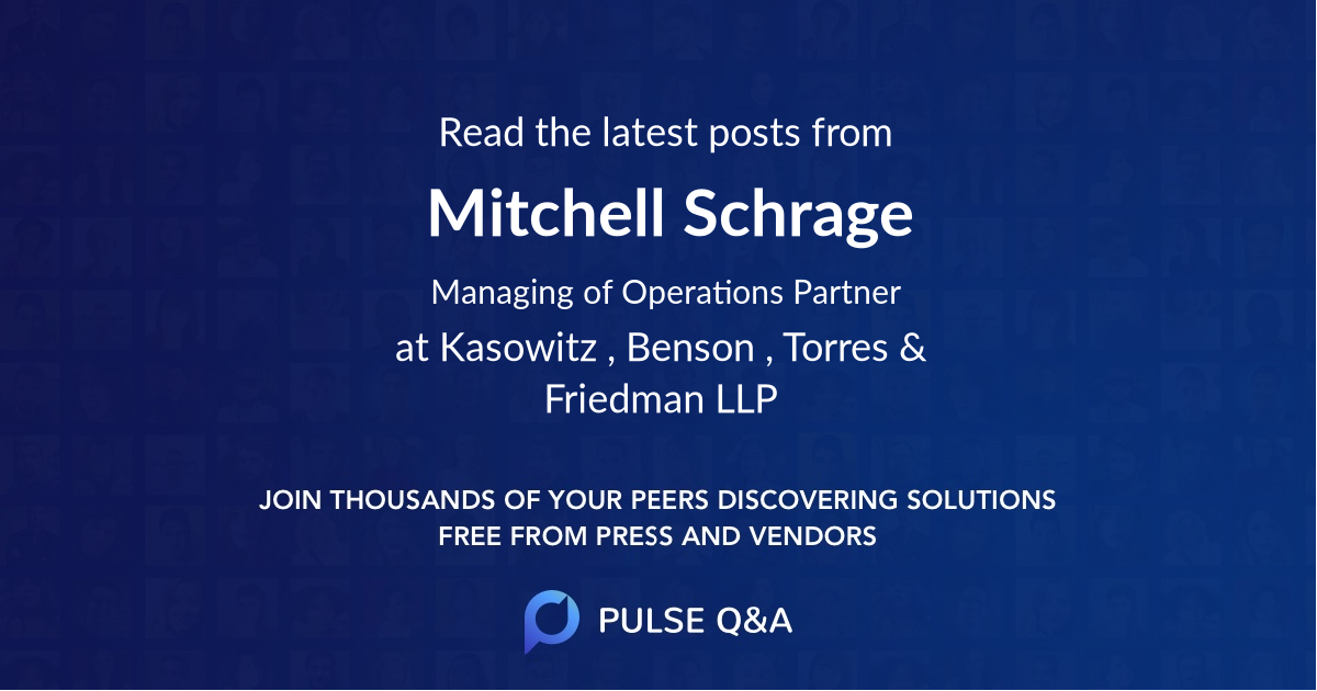Mitchell Schrage