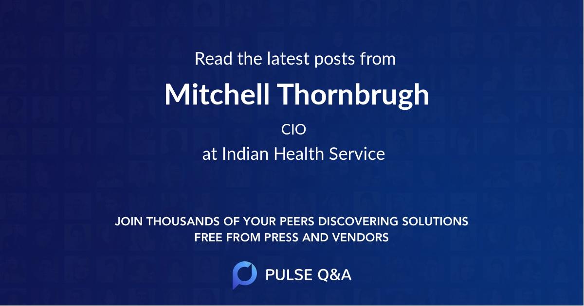 Mitchell Thornbrugh