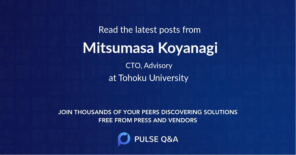 Mitsumasa Koyanagi