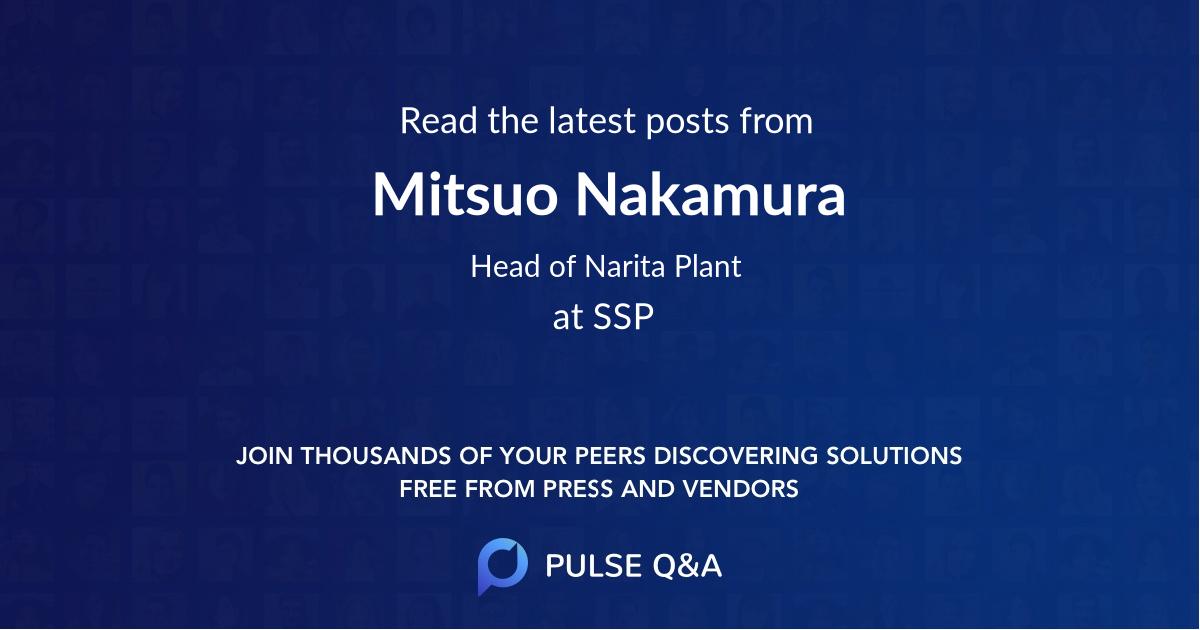 Mitsuo Nakamura