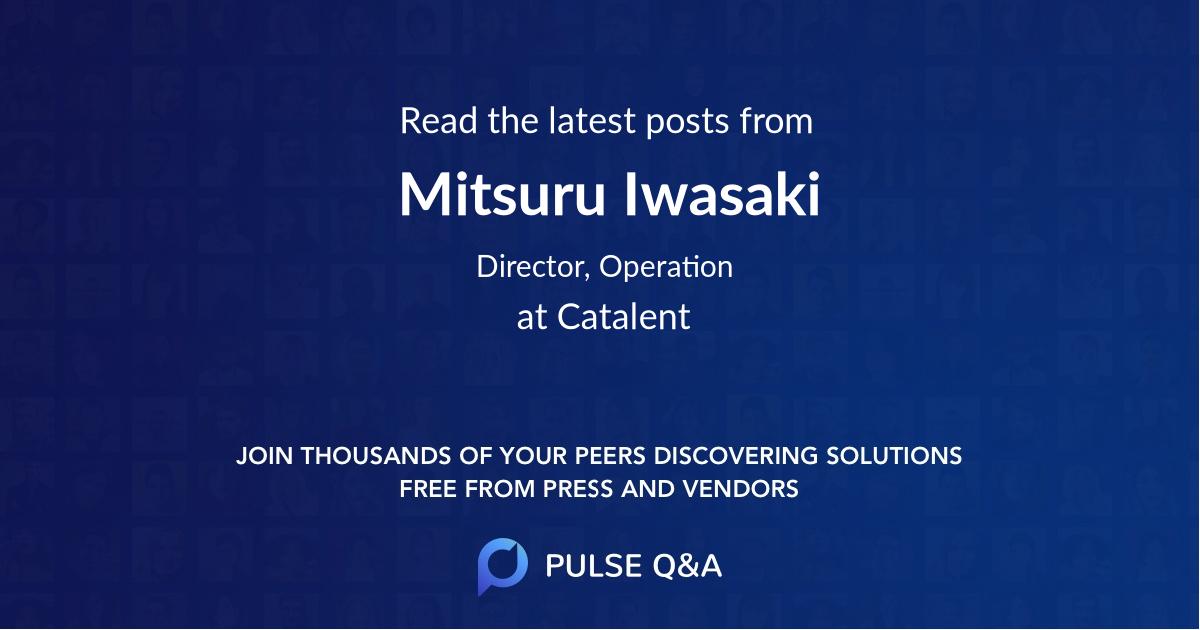 Mitsuru Iwasaki