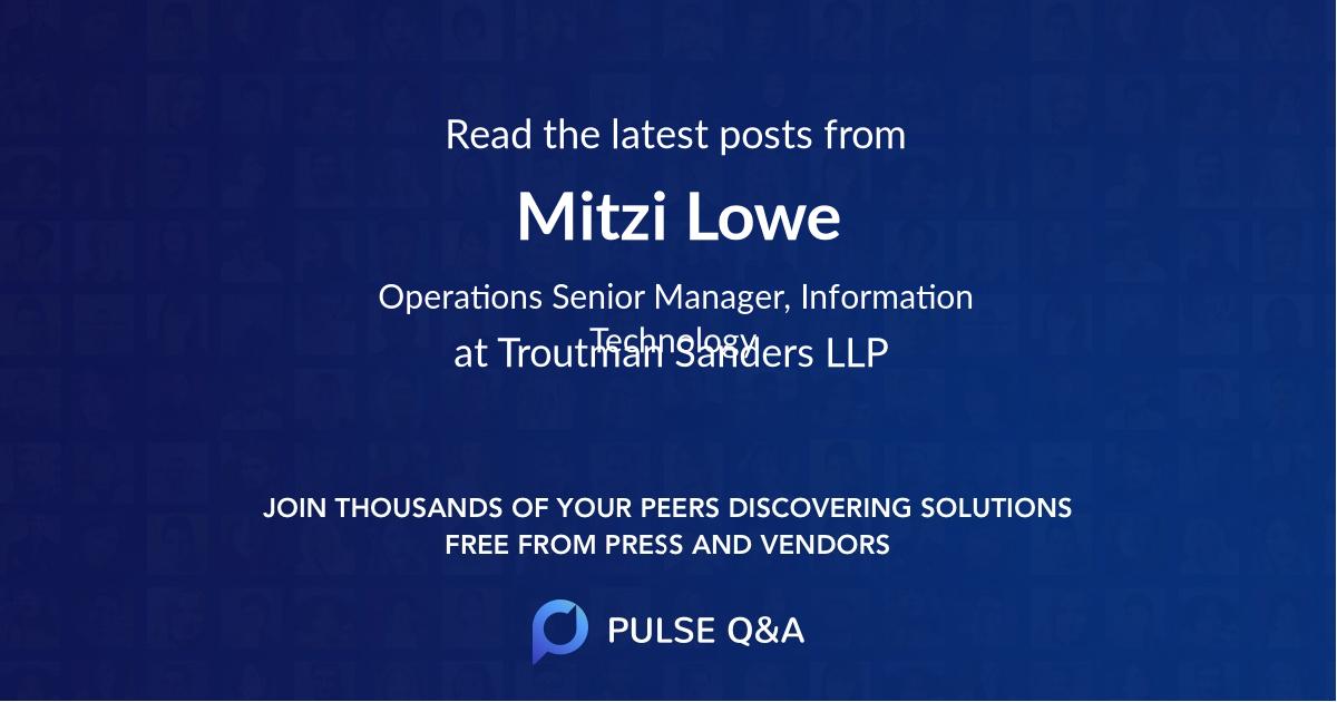Mitzi Lowe