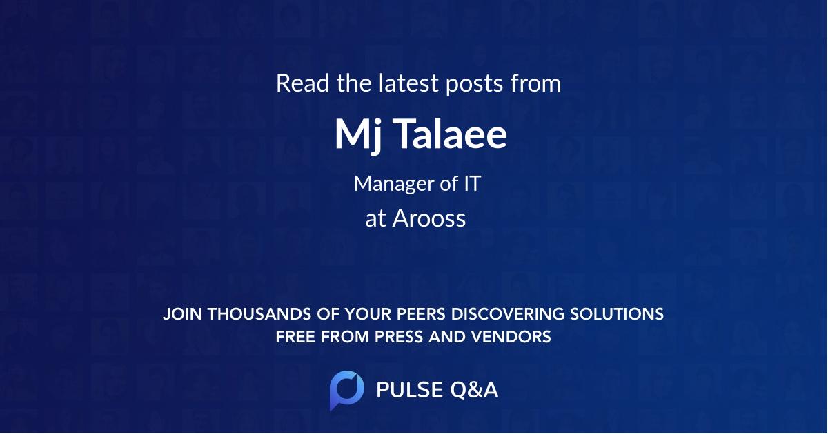 Mj Talaee